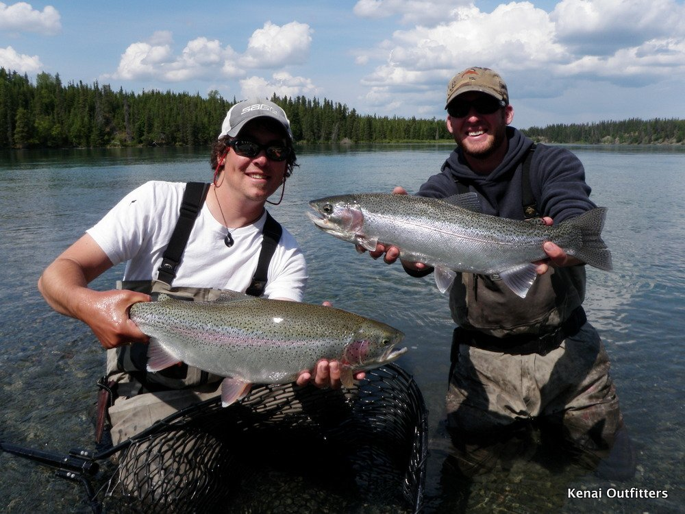 Alaska salmon trout fishing trip pictures for Alaskan fishing trips